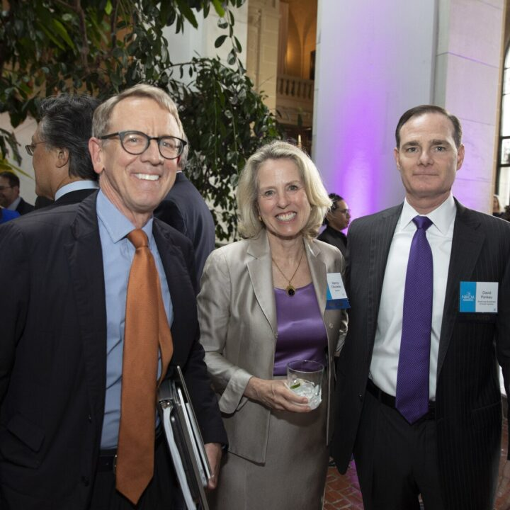 John Doerr, Nancy Chockley (NIHCM Founding President, CEO and NIHCM Foundation Board Member) and David Pankau (NIHCM Board), Organization of American States, 2019