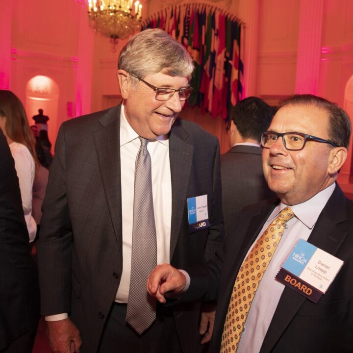 John Forsyth and Dan Loepp (NIHCM Board), Organization of American States, 2019