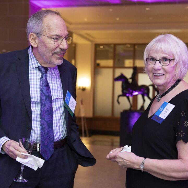 Paul Ginsburg (NIHCM Advisory Board) and Carolyn Myers (NIHCM Foundation), Organization of American States, 2019