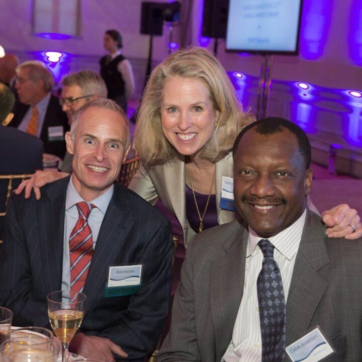 Bob Kocher (NIHCM Advisory Board), Nancy Chockley and Calvin Anderson, The Renwick, 2016