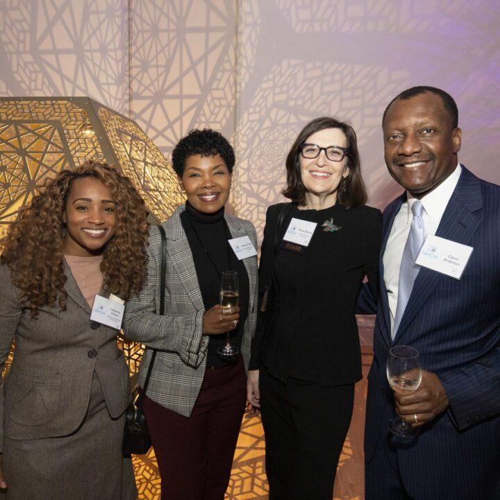 Dakasha Winton, Andrea Willis and Paula Steiner (NIHCM Board), The Renwick, 2018
